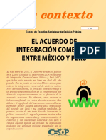 Contexto TLC Mexico Peru