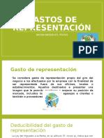 GASTOS DE REPRESENTACIÓN.pptx