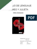 Trbajo Romeo Y Julieta