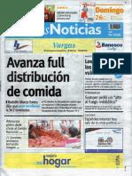 Últimas Noticias Vargas domingo 26 de junio de  2016