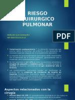 Riesgo Quirurgico Pulmonar