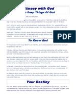Devotional lessons