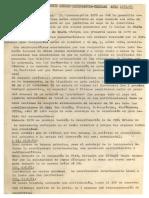 Memorandum Mov Obrero Estudiantil 71-72