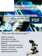 Optical Mineralogy a Review