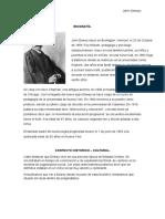 Biografía John Dewey