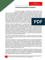 Entrenamiento Especifico de Arqueros-Horacio Tagliaferri