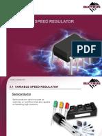 2.1 Variable Speed Regulator
