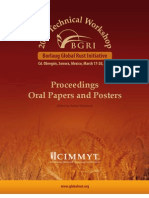 BGRI 2009 Proceedings Cimmyt Isbn
