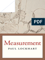 Paul Lockhart-Measurement-Belknap Press (2012)