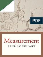 Paul Lockhart-Measurement-Belknap Press (2012)