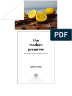The Modern Preserver Jams- Pickles- Cordials- Comp