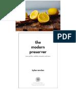 The Modern Preserver Jams- Pickles- Cordials- Comp