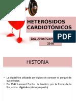 13 Heterósidos Cardiotónicos Ultimo