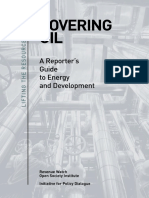 Covering Oil