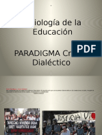 Paradigma Critico Dialectico Notas Fundamentales