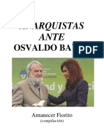 Anarquistas Ante Osvaldo Bayer, Amanecer Fiorito (Compilación)