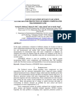 Performance Evaluation of Fault Location Algorithm (Documento)
