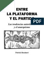 Entre la plataforma y el partido, de Patrick Rossineri.pdf