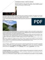 Recursos Naturais Do Brasil e Fontes de Energia