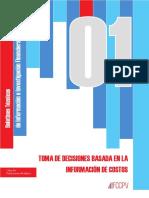 Boletín Técnico Toma de Decisiones Basadas en La Información de Costos