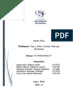 Etica Trabajo Monografia