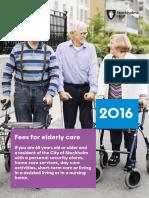 Engelsk Broschyr_Fees for Elderly Care 2016