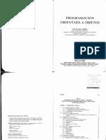 Programación Orie.ntada a Objetos (Luis Joyanes Aguilar - McGraw-Hill - Sección 1)