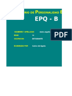 Eysenck Forma b
