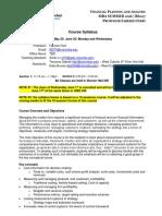 Financial Planning & Analysis (Ferri) SU2016