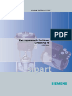 Sipart Siemens Ps2 6dr56XX FF Manual