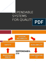 Dependable Systems