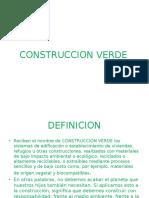 Construccion Verde