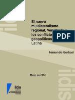 El Nuevo Multilateralismo en América Latina
