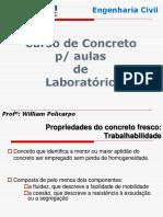 AULA 07- Curso de Concreto Rapido (Aula de Laboratorio)