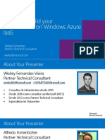 Day 5 - Build Your Hybrid Infrastructure on Windows Azure IaaS
