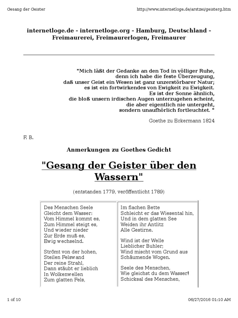 Goethe Gesang Der Geister 02