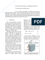 Fuel Cell Paper