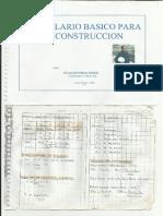 FORMULARIO BASICO PARA LA CONSTRUCCION