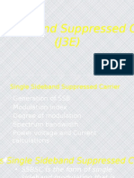 Single Sideband Suppressed Carrier