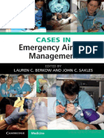 Cases in Emergency Airway Management