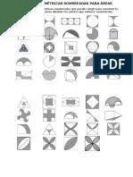 Figuras Geométricas Sombreadas Para Áreas