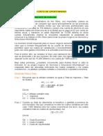 Aplicaciones_Costo de Oportunidad_Mayo 2106