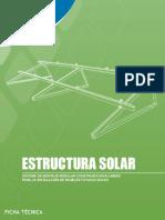 Estructura Metalica Para Panel Solar