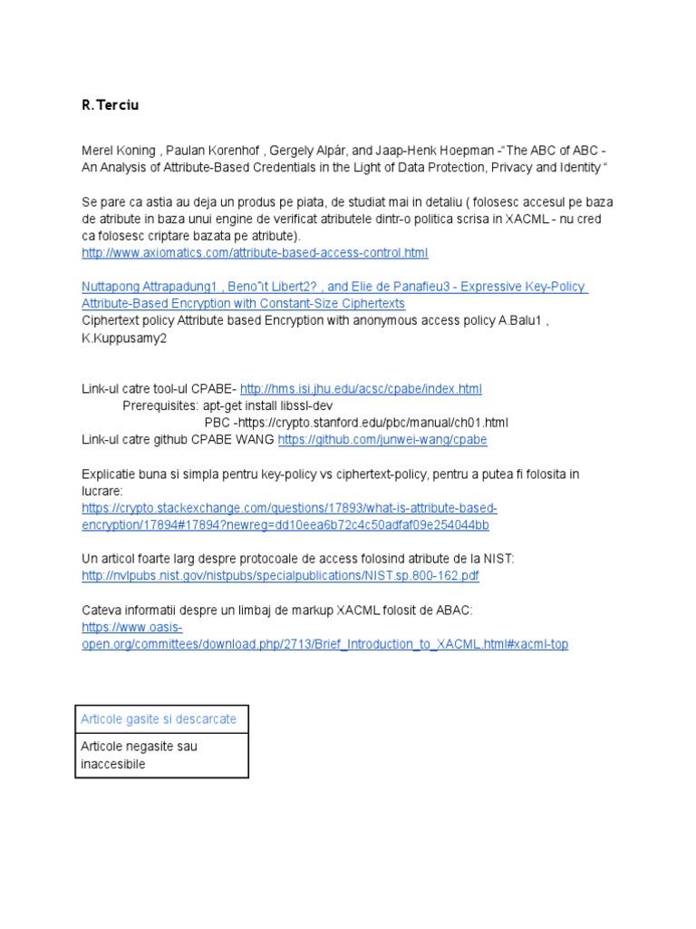 Lista articole Articole ABC Cryptography | Encryption | Military