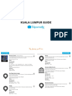 Tripomatic Free City Guide Kuala Lumpur - How to plan your trip perfectly