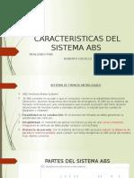 Caracteristicas Del Sistema Abs