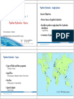 1 - Pipeline Hydraulics-Basics