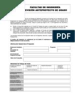Formato de Evaluacion de Anteproyecto