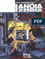 Paranoia 1st Ed Players Handbook