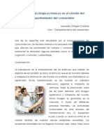 Procesos Psicologicos Basicos en El Estudio Del Comportamiento Del Consumidor